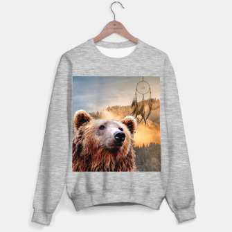 Miniature de image de Brown Bear and Dream Catcher Sweater regular, Live Heroes