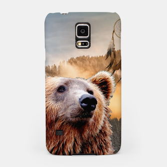 Thumbnail image of Brown Bear and Dream Catcher Samsung Case, Live Heroes