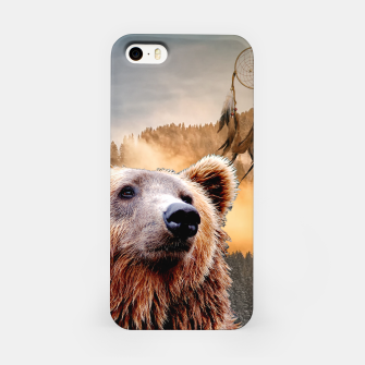 Thumbnail image of Brown Bear and Dream Catcher iPhone Case, Live Heroes