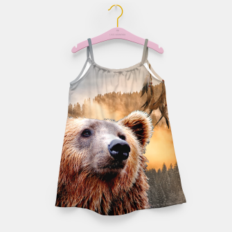 Thumbnail image of Brown Bear and Dream Catcher Girl's dress, Live Heroes