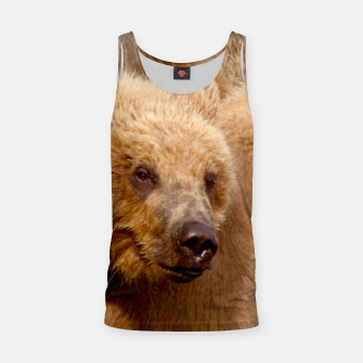 Thumbnail image of Brown Bear Tank Top, Live Heroes