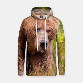 Thumbnail image of Brown Bear Hoodie, Live Heroes