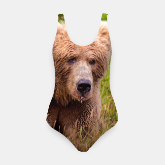 Thumbnail image of Brown Bear Swimsuit, Live Heroes