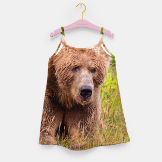 Thumbnail image of Brown Bear Girl's dress, Live Heroes