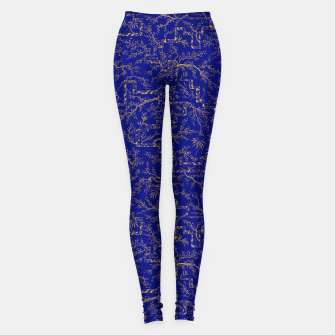 Thumbnail image of Sakura bloom at summer night  Leggings, Live Heroes
