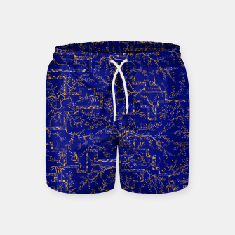 Thumbnail image of Sakura bloom at summer night  Swim Shorts, Live Heroes