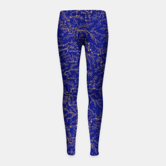 Thumbnail image of Sakura bloom at summer night  Girl's leggings, Live Heroes