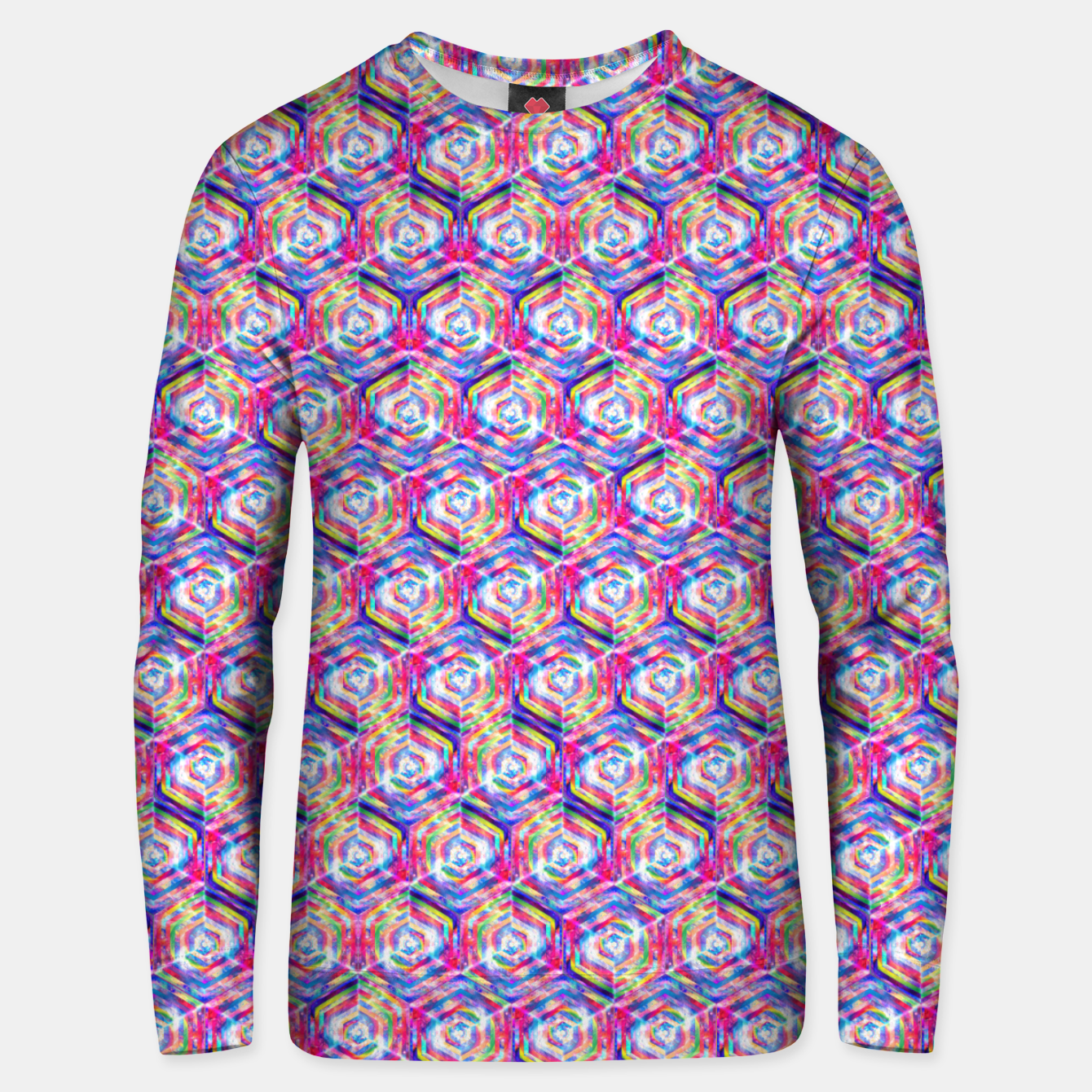 Foto Source Of Freedom Pattern Unisex sweater - Live Heroes