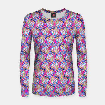 Miniatur Source Of Freedom Pattern Women sweater, Live Heroes
