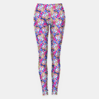 Miniatur Source Of Freedom Pattern Leggings, Live Heroes