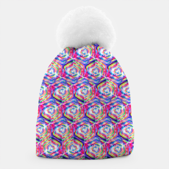 Miniatur Source Of Freedom Pattern Beanie, Live Heroes