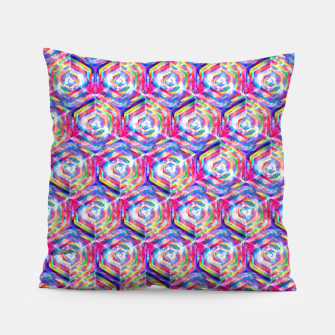 Miniatur Source Of Freedom Pattern Pillow, Live Heroes