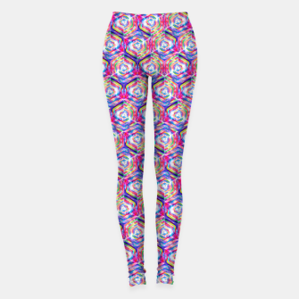 Thumbnail image of Source Of Freedom Pattern Leggings, Live Heroes