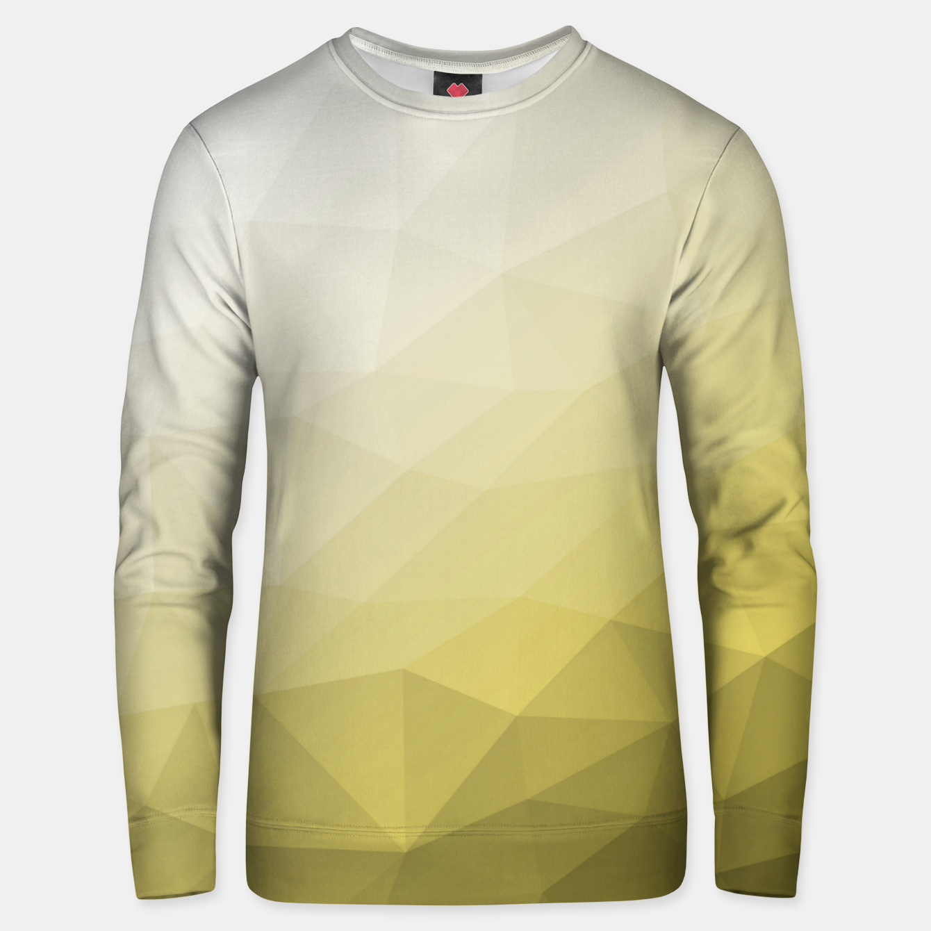 Image of Ultimate Gray Illuminating Gradient Geometric Mesh Pattern Unisex sweater - Live Heroes