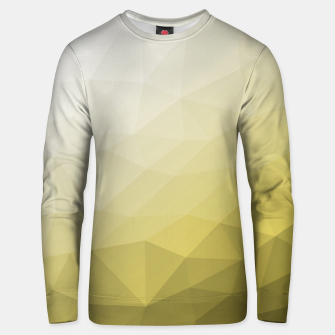 Thumbnail image of Elegant and cool Triangle geometric mesh with Ultimate Gray Illuminating Gradient Geometric Mesh Patternllow gradient.  Unisex sweater, Live Heroes