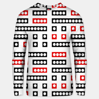 Thumbnail image of Geometric Sequence Print Pattern Design Unisex sweater, Live Heroes