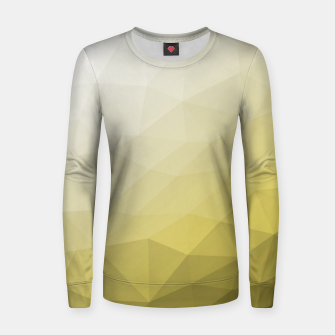 Ultimate Gray Illuminating Gradient Geometric Mesh Pattern Women sweater thumbnail image