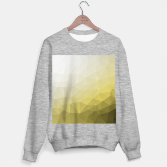 Ultimate Gray Illuminating Gradient Geometric Mesh Pattern Sweater regular thumbnail image