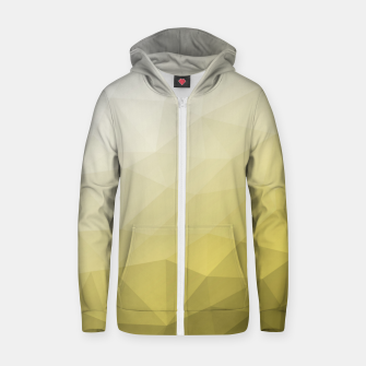 Ultimate Gray Illuminating Gradient Geometric Mesh Pattern Zip up hoodie thumbnail image