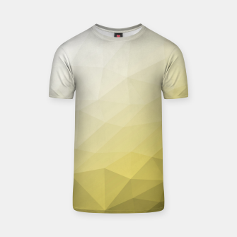 Ultimate Gray Illuminating Gradient Geometric Mesh Pattern T-shirt thumbnail image