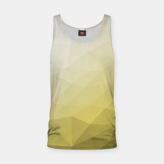 Ultimate Gray Illuminating Gradient Geometric Mesh Pattern Tank Top thumbnail image