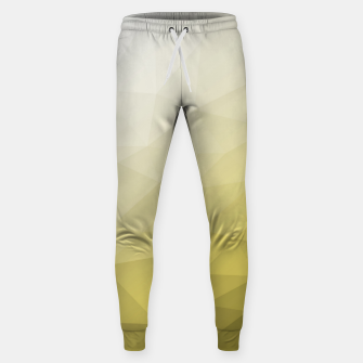 Thumbnail image of Elegant and cool Triangle geometric mesh with Ultimate Gray Illuminating Gradient Geometric Mesh Patternllow gradient.  Sweatpants, Live Heroes