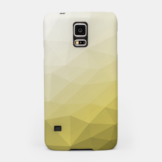 Thumbnail image of Elegant and cool Triangle geometric mesh with Ultimate Gray Illuminating Gradient Geometric Mesh Patternllow gradient.  Samsung Case, Live Heroes