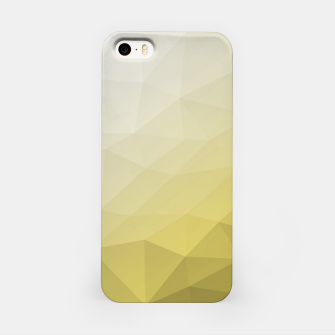 Ultimate Gray Illuminating Gradient Geometric Mesh Pattern iPhone Case thumbnail image