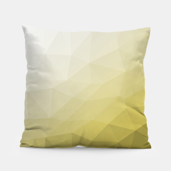 Ultimate Gray Illuminating Gradient Geometric Mesh Pattern Pillow thumbnail image