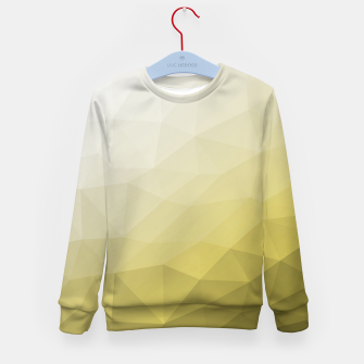 Thumbnail image of Elegant and cool Triangle geometric mesh with Ultimate Gray Illuminating Gradient Geometric Mesh Patternllow gradient.  Kid's sweater, Live Heroes