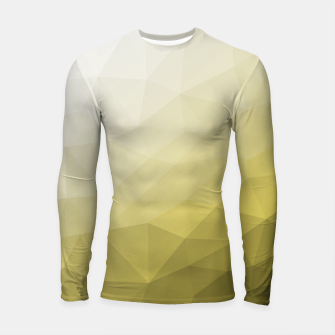 Ultimate Gray Illuminating Gradient Geometric Mesh Pattern Longsleeve rashguard  thumbnail image