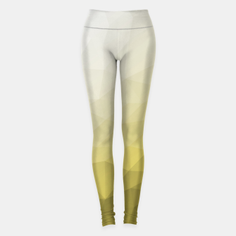 Thumbnail image of Elegant and cool Triangle geometric mesh with Ultimate Gray Illuminating Gradient Geometric Mesh Patternllow gradient.  Leggings, Live Heroes
