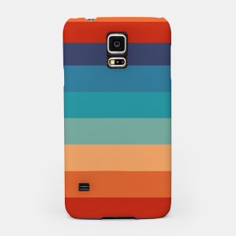 Thumbnail image of Rainbow Stripes Vintage Colors Old Style Colorful Geometric Samsung Case, Live Heroes