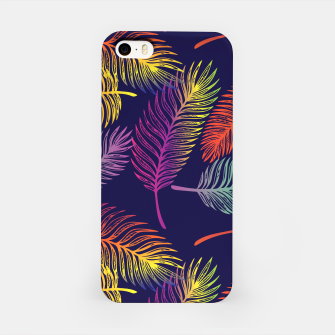 Miniaturka Colorful Palm Leaves Tropical Tree Summer Vibes Hawaii iPhone Case, Live Heroes