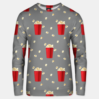 Red Popcorn Buckets Movie Snack Television Film Lovers Unisex sweater thumbnail image