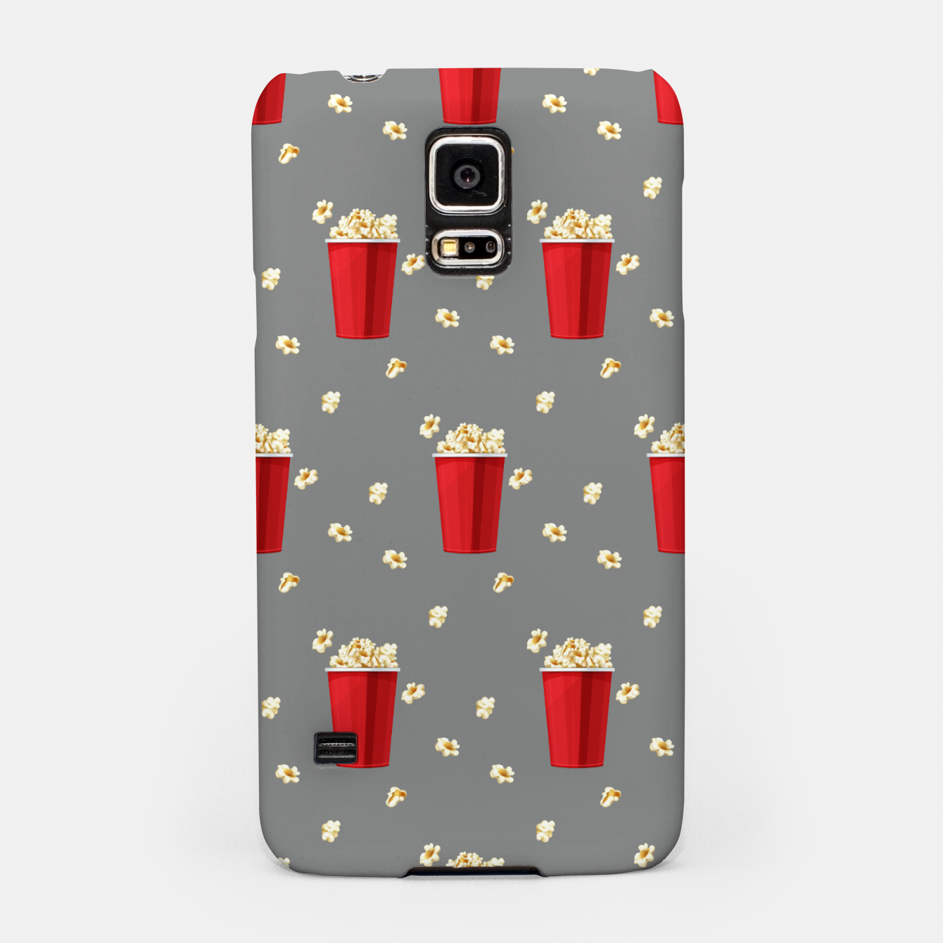 Image of Red Popcorn Buckets Movie Snack Television Film Lovers Samsung Case - Live Heroes
