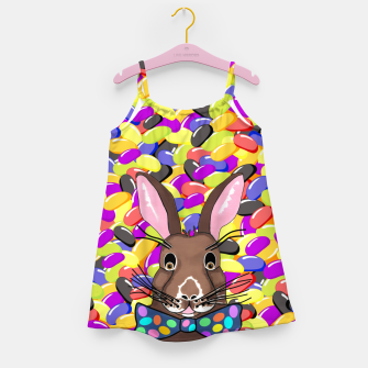 Miniatur Easter Bunny Jelly Beans Girl's dress, Live Heroes