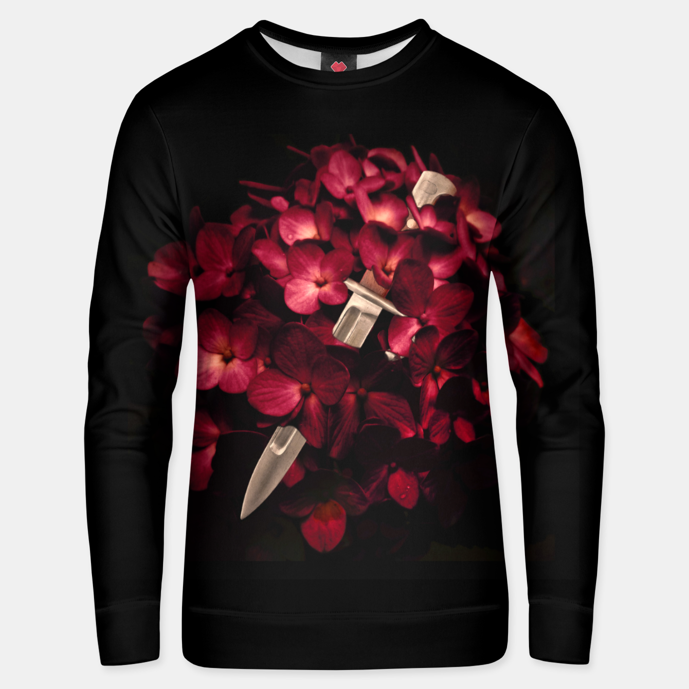 Image of Love Deception Concept Artwork Unisex sweater - Live Heroes