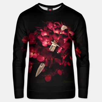 Thumbnail image of Love Deception Concept Artwork Unisex sweater, Live Heroes