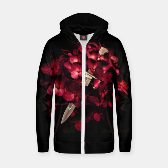 Love Deception Concept Artwork Zip up hoodie thumbnail image