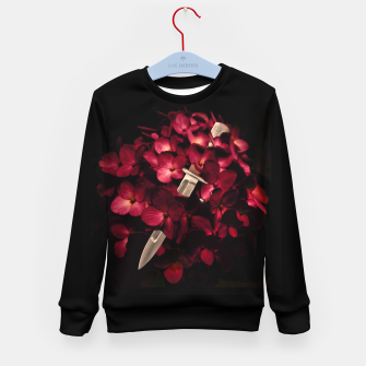 Thumbnail image of Love Deception Concept Artwork Kid's sweater, Live Heroes
