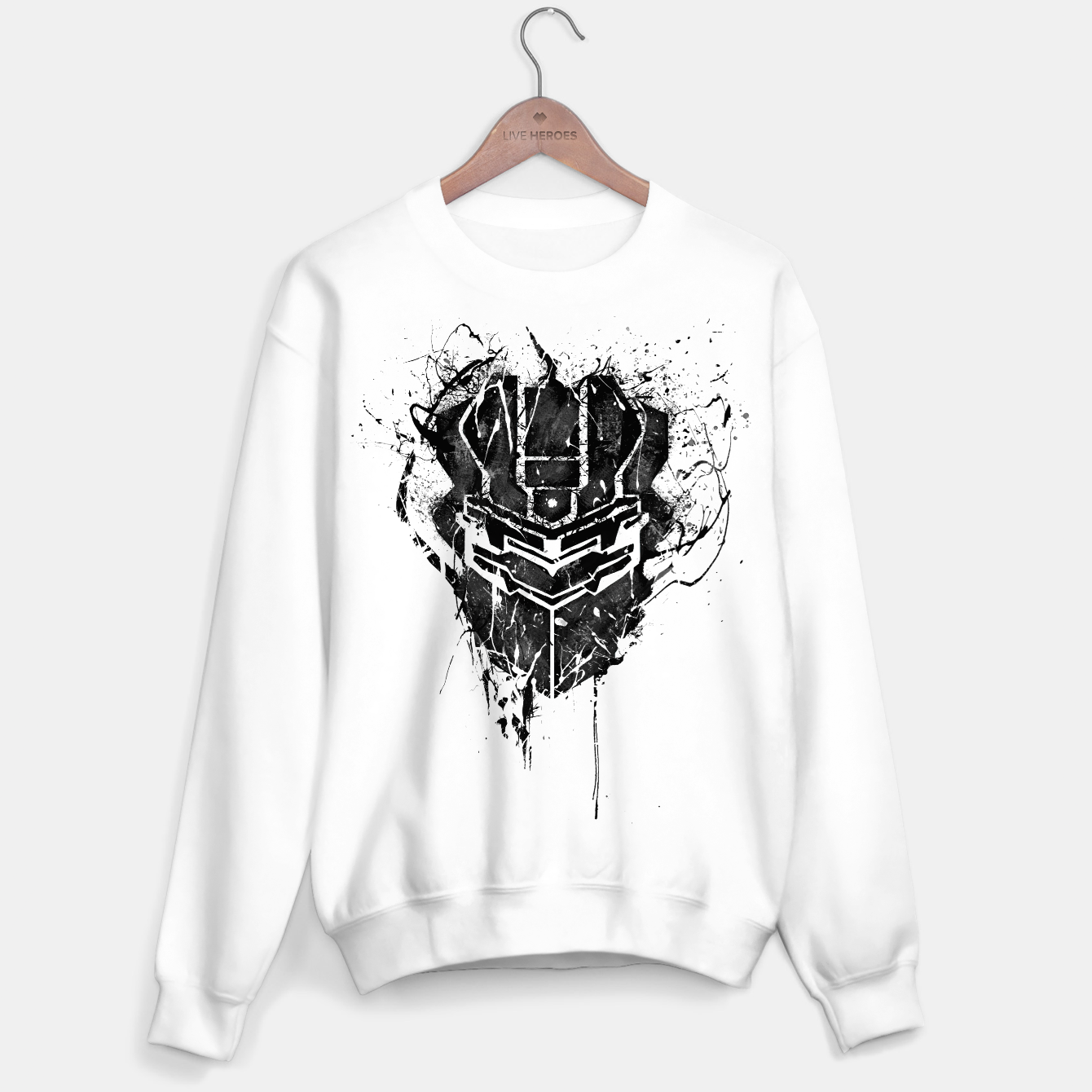 Image of dead space Sweater regular - Live Heroes