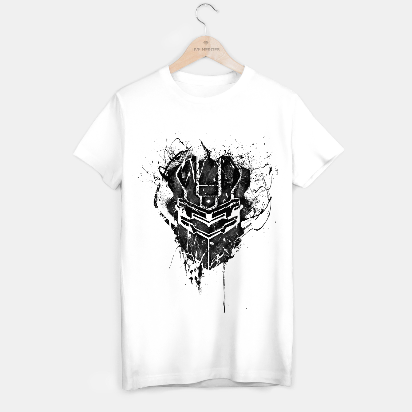 Image of dead space T-shirt regular - Live Heroes