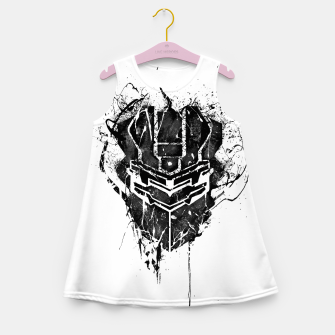 Miniaturka dead space Girl's summer dress, Live Heroes