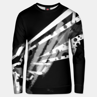 sacred wings uncloloured (white edition) Unisex sweatshirt thumbnail image