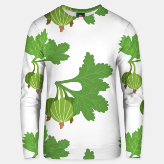 Cape Gooseberry Plant Exotic Fruit Physalis Peruviana Unisex sweater Bild der Miniatur