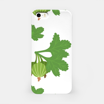 Miniaturka Cape Gooseberry Plant Exotic Fruit Physalis Peruviana iPhone Case, Live Heroes