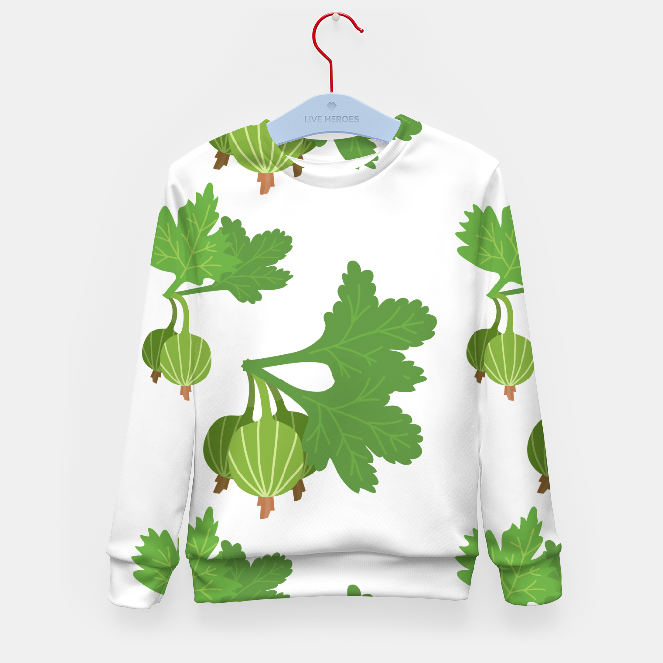 Foto Cape Gooseberry Plant Exotic Fruit Physalis Peruviana Kid's sweater - Live Heroes