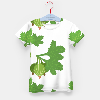 Cape Gooseberry Plant Exotic Fruit Physalis Peruviana Kid's t-shirt Bild der Miniatur