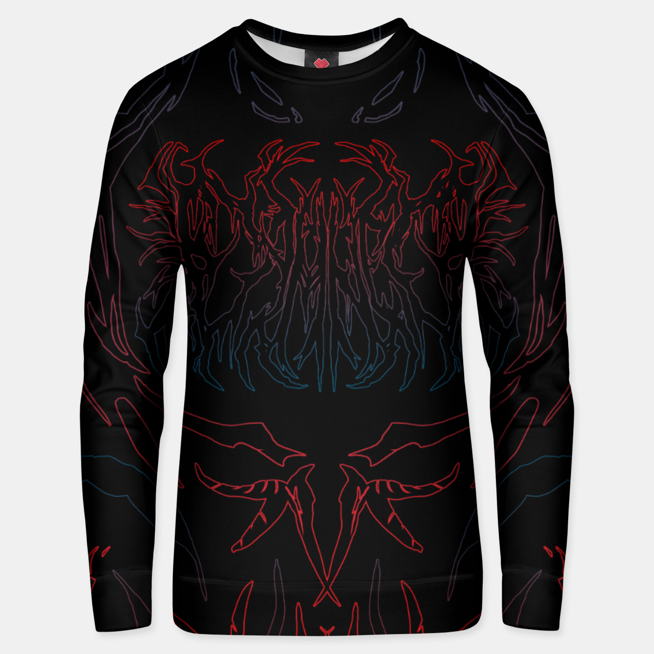 Image of Damned Unisex sweater - Live Heroes